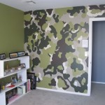 The Camo Wall Colors Didn Really Rest House