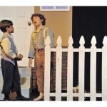 The Classic Fence Painting Scene From Tom Sawyer Right