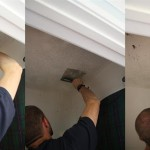The Easy Way Remove Popcorn Ceilings