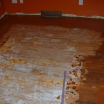 The Floor Was Previously Painted Hence Why Decided Paint