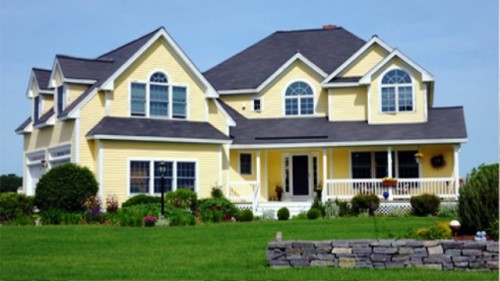 The Getting Home Exterior Paint Cans