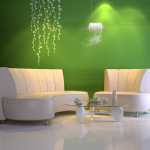 The Neutral Colored Wall Looks Fresh For Can Bring Bigger Illusion