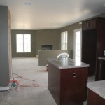 The Next Two Are Great Room Same Paint Color Kitchen