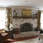 The Painting Brick Fireplace Ideas