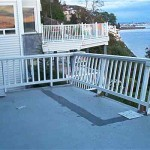 The Picture Doesn Show Refinished Tan Color Deck Paint Which