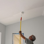 The Primer Rolled Coat White Ceiling Paint