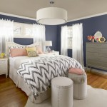 The Trim And Ceiling Van Courtland Blue Accent Color