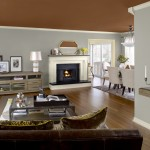 This Kitchen Features Benjamin Moore Urbanite Palette