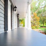 This Porch Floor Was Installed Over Grace Ice And Water Shield