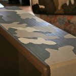 Tutorial How Paint Camouflage Bookcase