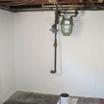 Two Paint Can For The Look And Smell Basement Wall