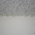 Very Common Ceiling Line Popcorn Ceilings This Particular
