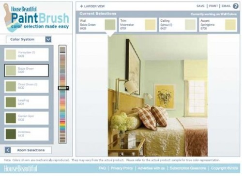 Virtually Paint Your Room