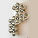 Wall Decor For Office Decorating Walls Upcycled Cans Art