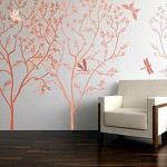 Wall Tree For Pictures Painting Stencil Murals
