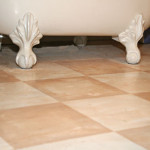 Wanted Classic Tile Look The Bathroom Painted