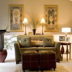 What Good Color Paint Living Room Golden Theme
