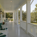 What The Paint Color Porch Floor For Bayou Oaks