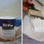 White Ceiling Paint Covers Splendidly And Nice Bright