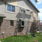 Wood Replacement And Sherwin Williams Duration Exterior Paint