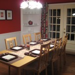 Wooden And Red Wall Paint Colors Dining Room For Expert Advice Use