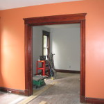 All The Rooms Before Puts Trim And Losing Painted