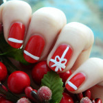 Beautiful Christmas Nail Art Designs