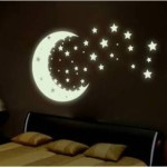 Bedroom Decoration Made Glow The Dark Paint