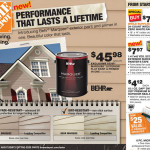Behr Marquee Exterior Flat Paint Primer One