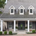 Boxwoodclippings Grey Brick House