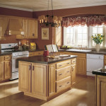Brown Color Paint For Kitchen Walls And Cabinets