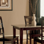 Brown Paint Color Neutral Dining Room Hints