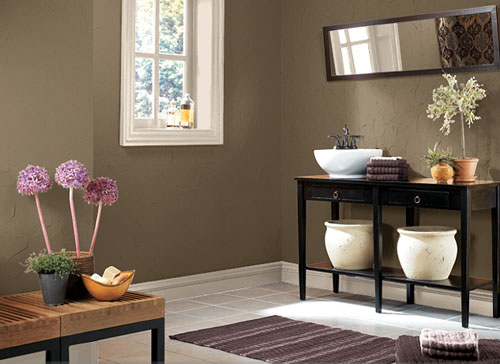 Brown Wall Paint Designs