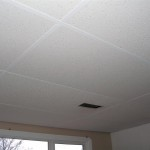 Ceiling Tiles Then Put The Back Presto Chango
