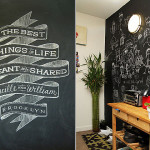 Chalkboard Paint Ideas When Writing The Walls Becomes Fun