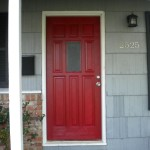 Chic Little House Posh Red Front Door How Paint Your