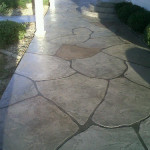 Choosing Patio Concrete Designs Stain Paint