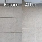 Colorseal Cleaning Grout Coloring And Sealing Before