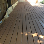 Deck After The First Coat Rust Oleum Restore Color