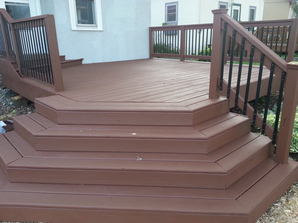 Deck And Stairs Complete Big Splat Bird Crap The Steps