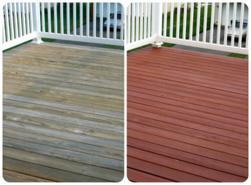 Deck Can Not Believe The Difference And How Amazing Our