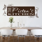 Decorative Kitchen Vinyl Art Wall Stickers Quotes Decal