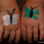 Easy Face Painting Ideas For Butterfly