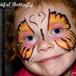 Easy Face Painting Ideas For Butterfly Butterflies Are