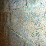 Encapsulate Basement Wall Chipping Paint Porous Surface
