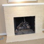 Extensive Remodel The Painted Brick Fireplace Just Did Not Work