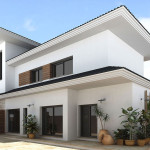 Exterior Paint Combinations Ideas Balck And White
