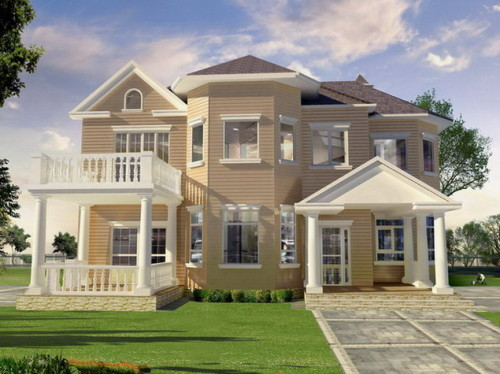 Exterior Paint House Ratings And Combinations