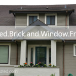 Exterior Update Painted Brick And Window Frames