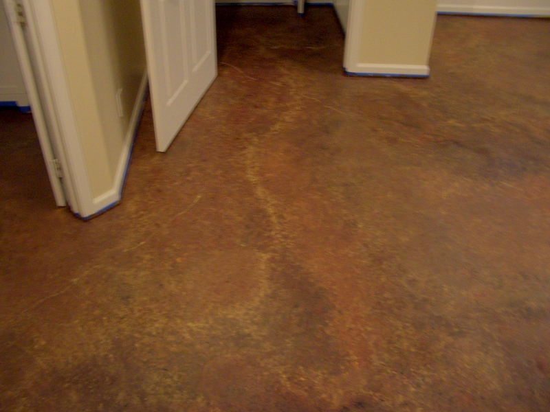 Floor For Creating Light Atmosphere Around Painting Basement